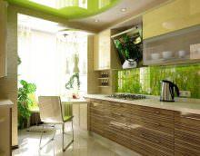 Фартук кухни в экостиле должен быть изящным, естественным и притягательным.