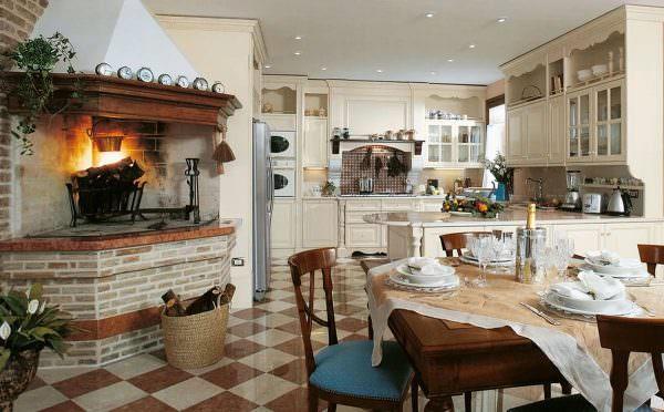 Чтобы создать итальянский стиль в вашей квартире, вам просто необходимо открытое пространство.