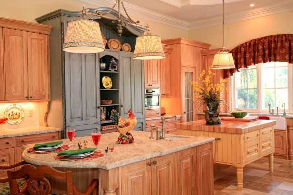 Колер персика подходит под многие интерьерные стили – ему найдется место в старинном и современном интерьере, западном и восточном, минималистичном и более «навороченном»