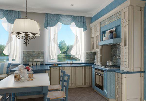 Красивые занавески можно сделать самостоятельно, домашняя обстановка будет гарантирована.