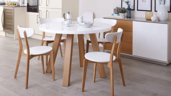 Главный элемент кухонного интерьера – это стол.