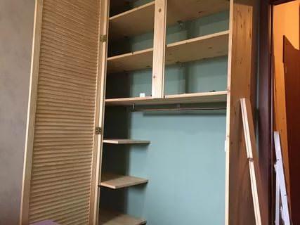 Отдельно стоящие шкафы изготавливаются аналогичным способом.