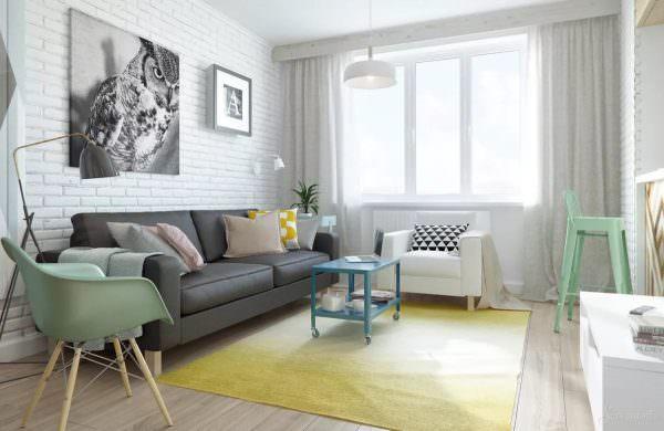 Скандинавские интерьеры, как правило, окрашены в белый цвет, чтобы помочь сохранить пространство ярким.