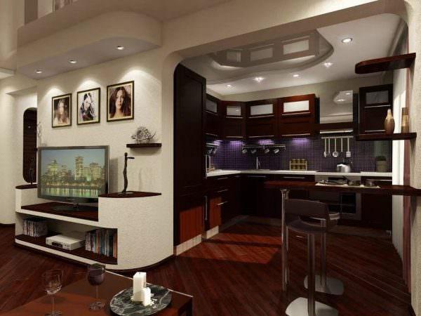 Яркий, современный, авангардный стиль предполагает использование чистых, сочных и свежих цветов, мебели круглых или четко-геометрических форм, а также наивных принтов.