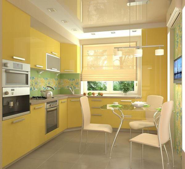 Желтый хоть и позитивный цвет, но неоднозначно сказывается на настроении