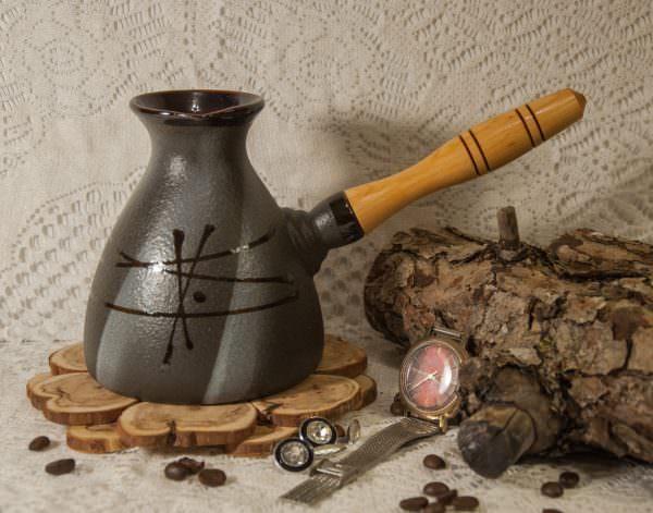 """Устройство для варки кофе появилось еще в Древнем мире и приобрело название """"турка""""."""